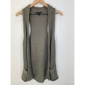 Banana Republic Women's Vest Jacket Gray Size S